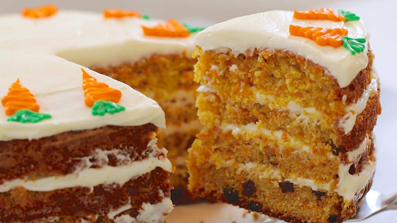 How To Bake The Best Carrot Cake You'll Ever Eat